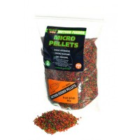 Пеллетс Technocarp Method Feeder Micro Pellets Fruit & Fish mix 750g