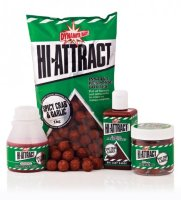 Бойлы Dynamite Baits Hi-Attract Spicy Crab & Garlic Pop Up 15mm