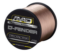 Леска D.A.M. MAD D-Fender Carp Line 1400m 0,30mm  6,8kg (brown)