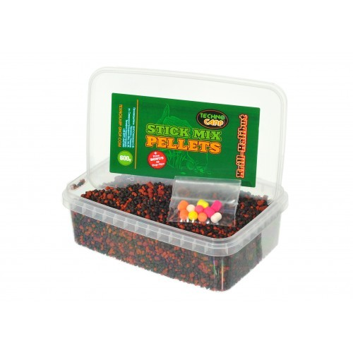 Стик-микс Technocarp Krill-Halibut 600g