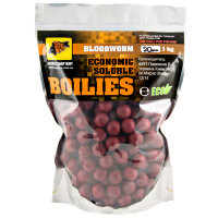 Пылящие бойлы CC Baits Economic Soluble Bloodworm 20мм 1кг
