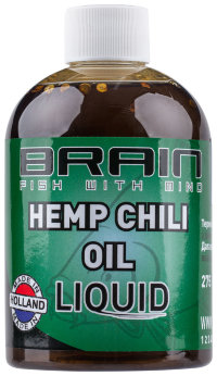 Аттрактант Brain Hemp Oil + Chili Liquid 275 ml