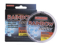 Леска Bratfishing Rainbow Feeder 100 m 0,32 mm 11,68 kg