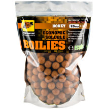 Пылящие бойлы CC Baits Economic Soluble Honey 20мм 1кг
