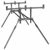 Подставка DAM MAD COMPACT STAINLESS STEEL Rod Pod для 3 удилищ max длина 110см