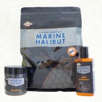 Бойлы Dynamite Baits Marine Halibut Sea Salt 15 mm 1kg