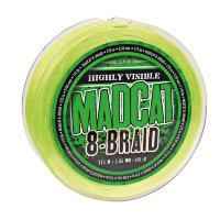 Шнур DAM Madcat 8-Braid Green 270m 0,60mm 61,2kg/135Lb