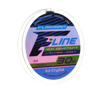Леска Flagman F-Line Ice Crystal 0.14mm 30m 2,4kg