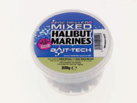 Пеллетс Bait-tech Pre-Drilled Mixed Halibut Marine Hookers 8mm,12mm,16mm,20mm 300g