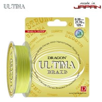 Шнур Dragon Ultima 125m 0.12mm 10.60kg Fluo Yellow