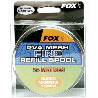 Запасная ПВА сетка Fox PVA Mesh Narrow Refill Spool Fine Mesh 25mm x 10m