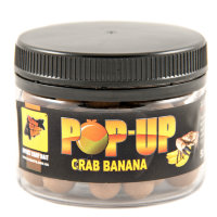 Бойлы CC Baits Pop-Ups Crab Banana 10мм, 50гр