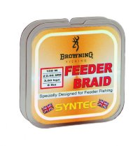 Шнур Browning Feeder Braid 125м 0,12мм-5,5кг