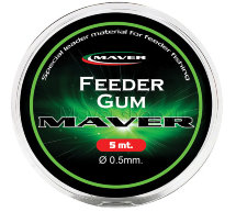 Амортизатор Maver Feeder Gum, 0,5mm, 5m