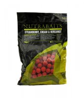 Бойлы Nutrabaits EA STRAWBERRY, CREAM & BERGAMOT 20мм 1кг