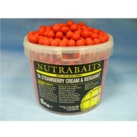 Бойлы Nutrabaits EA STRAWBERRY, CREAM & BERGAMOT 20мм 5кг