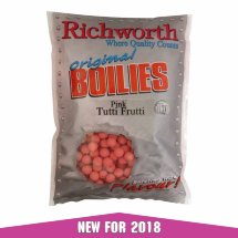 Бойлы Richworth Original Tutti Frutti Pink 15mm 1kg