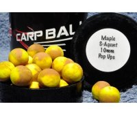 Бойлы Carpballs Pop Ups Maple&Secret Agent 10mm 15шт.