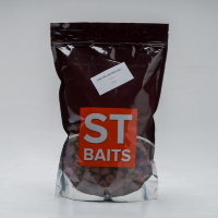 Пеллетс ST Baits Pre Drilled Red Krill Pellets 1kg