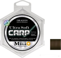 Волосінь Dragon Mega Baits UltraSoft Carp 300m 0.40mm 12.70kg
