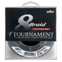 Шнур Daiwa Tournament 8xBraid 0,18mm Dark Green