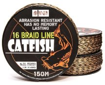 Шнур Bratfishing Aborigen Catfish 16 Braid 150m