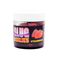 Бойлы CC Baits Glugged Dumbells Strawberry, 10*16мм, 100гр