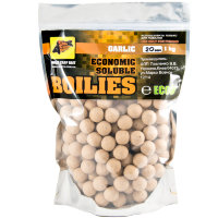 Пылящие бойлы CC Baits Economic Soluble Garlic 20мм 1кг