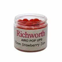 Бойлы Richworth Airo Pop-ups Strawberry Jam, 15mm, 80g