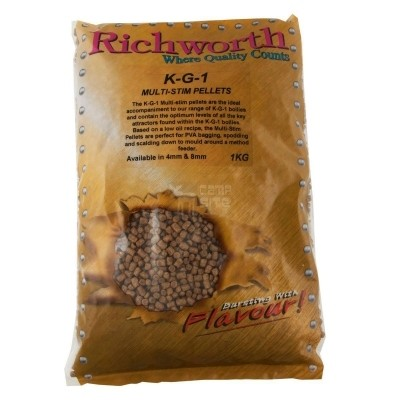 Пеллетс Richworth Salmon Supreme Multi Stim Pellets 4 mm 1kg 2012