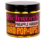 Бойлы Richworth Airo Pop-ups Pineapple Hawaiian, 15mm, 80g