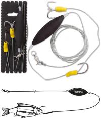 Оснастка для сома Black Cat Unterwasser-Posen Rig