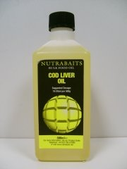 Масло Nutrabaits Cod Liver Oil 500ml