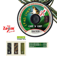 Ледкор Carp Zoom Lead core classic green 45lb 10m
