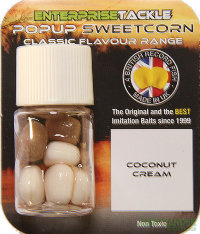Кукуруза Enterprise Tackle Pор Uр Nutrabaits Coconut Cream - Corn White/Beige